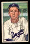 1952 Bowman #224  Johnny Schmitz  Front Thumbnail