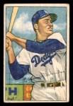 1952 Bowman #116  Duke Snider  Front Thumbnail