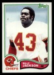 1982 Topps #118  Billy Jackson  Front Thumbnail
