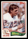 1982 Topps #103  Mike Renfro  Front Thumbnail