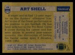 1982 Topps #198  Art Shell  Back Thumbnail