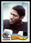 1982 Topps #197  Derrick Ramsey  Front Thumbnail