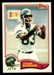 1982 Topps #163  Jerome Barkum  Front Thumbnail