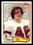 1982 Topps #148  Tim Fox  Front Thumbnail