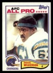 1982 Topps #240  Doug Wilkerson  Front Thumbnail