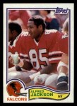 1982 Topps #279  Alfred Jackson  Front Thumbnail