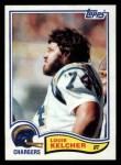 1982 Topps #235  Louie Kelcher  Front Thumbnail