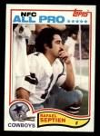 1982 Topps #323  Rafael Septien  Front Thumbnail