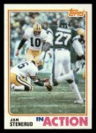 1982 Topps #367   -  Jan Stenerud In Action Front Thumbnail