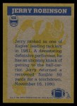 1982 Topps #456   -  Jerry Robinson In Action Back Thumbnail