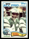 1982 Topps #461  Roynell Young  Front Thumbnail