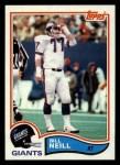 1982 Topps #429  Bill Neill  Front Thumbnail