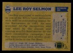 1982 Topps #505  Lee Roy Selmon  Back Thumbnail