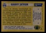 1982 Topps #425  Gary Jeter  Back Thumbnail