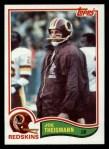 1982 Topps #521  Joe Theismann  Front Thumbnail