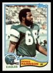 1982 Topps #446  Dennis Harrison  Front Thumbnail