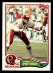 1982 Topps #519  Lemar Parrish  Front Thumbnail