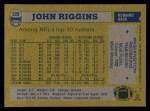 1982 Topps #520  John Riggins  Back Thumbnail