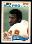 1982 Topps #499  Jimmie Giles  Front Thumbnail