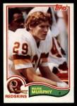 1982 Topps #517  Mark Murphy  Front Thumbnail