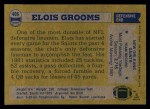 1982 Topps #406  Elois Grooms  Back Thumbnail