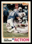 1982 Topps #464   -  Ottis Anderson In Action Front Thumbnail