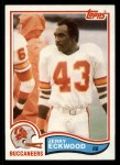 1982 Topps #498  Jerry Eckwood  Front Thumbnail
