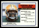 1983 Topps #74   Packers Leaders Front Thumbnail