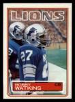 1983 Topps #73  Bobby Watkins  Front Thumbnail