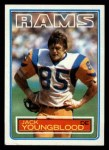 1983 Topps #96  Jack Youngblood  Front Thumbnail