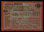 1983 Topps #25  Gerald Riggs  Back Thumbnail