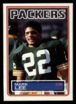 1983 Topps #82  Mark Lee  Front Thumbnail