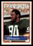 1983 Topps #81  Ezra Johnson  Front Thumbnail