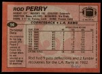1983 Topps #94  Rod Perry  Back Thumbnail