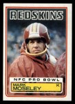 1983 Topps #194  Mark Moseley  Front Thumbnail