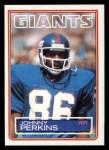 1983 Topps #132  Johnny Perkins  Front Thumbnail