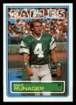 1983 Topps #147  Max Runager  Front Thumbnail