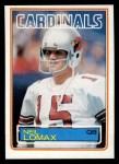 1983 Topps #158  Neil Lomax  Front Thumbnail