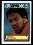 1983 Topps #175  Cedric Brown  Front Thumbnail
