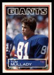 1983 Topps #131  Tom Mullady  Front Thumbnail