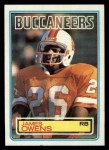 1983 Topps #181  James Owens  Front Thumbnail