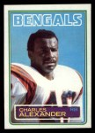 1983 Topps #231  Charles Alexander  Front Thumbnail