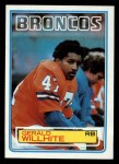 1983 Topps #270  Gerald Willhite  Front Thumbnail