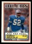 1983 Topps #275  Robert Brazile  Front Thumbnail