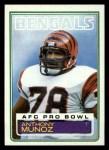 1983 Topps #240  Anthony Munoz  Front Thumbnail