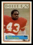 1983 Topps #288  Billy Jackson  Front Thumbnail