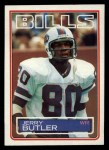 1983 Topps #221  Jerry Butler  Front Thumbnail