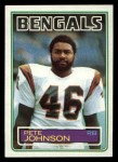 1983 Topps #237  Pete Johnson  Front Thumbnail