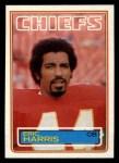 1983 Topps #287  Eric Harris  Front Thumbnail