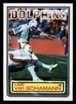 1983 Topps #322  Uwe Von Schamann  Front Thumbnail